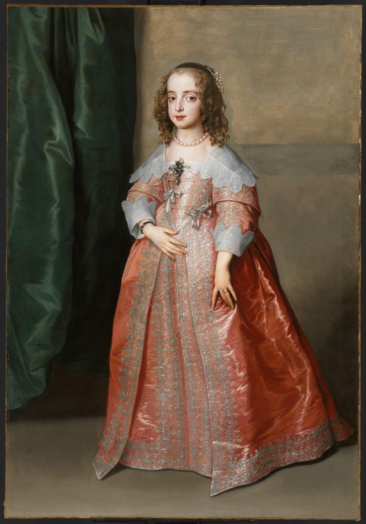 A flamand festő Stuart Mária angol királyi hercegnőt ábrázoló portréja