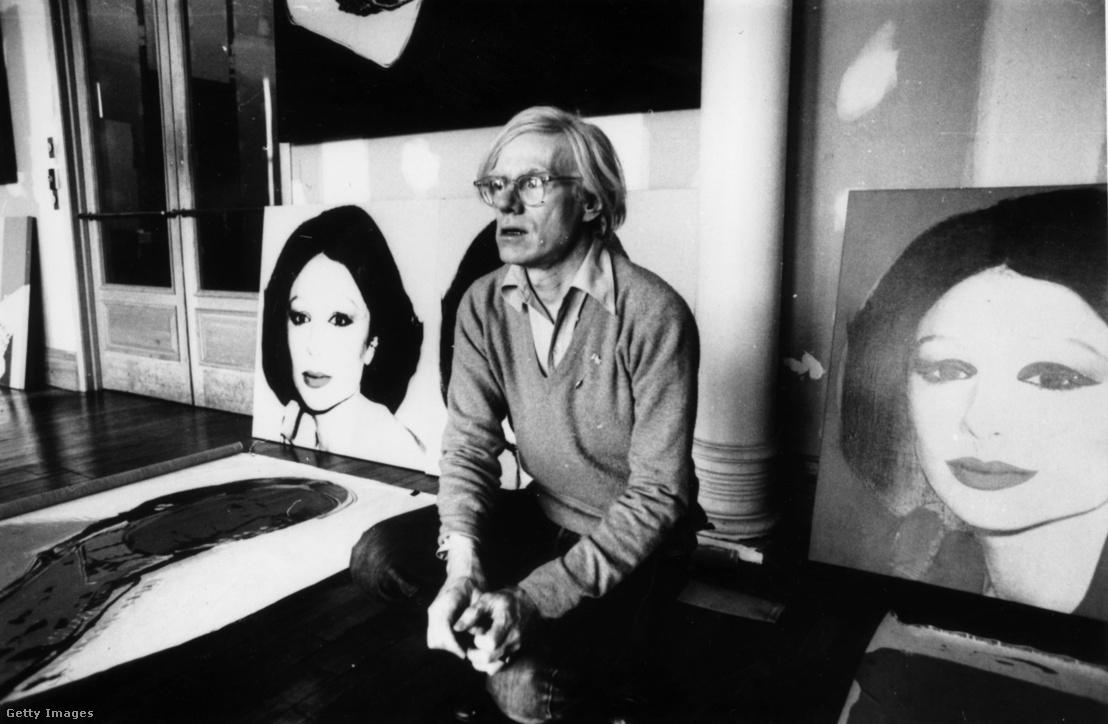 Andy Warhol 1977-ben