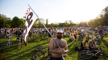 Április végén lesz a biciklis felvonulás