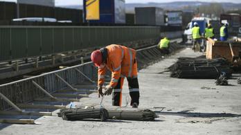 Áprilistól novemberig lezárják az M0-s autóút szigetszentmiklósi szakaszát