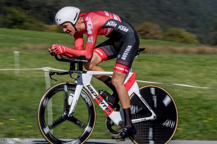 Georg Preidler a 2018-as országúti kerékpáros vb-n