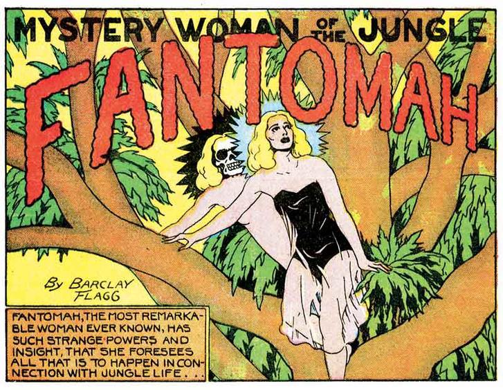 Fantomah title