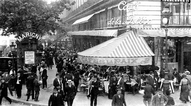 A párizsi Café de la Paix vendégül látta már Oscar Wilde-ot, James Joyce-t és Samuel Beckettet