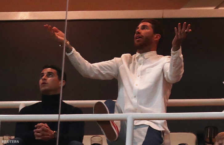 Sergio Ramos a Real-Ajaxon