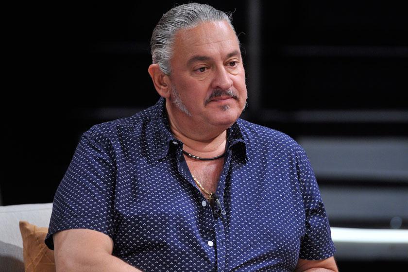 Faragó András a köztévé Hogy volt?! című tévéműsorának felvételén 2016 augusztusában.