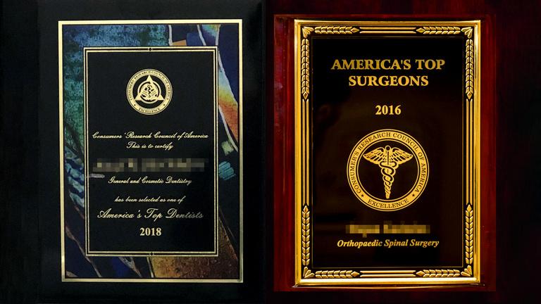 Bárki lehet Amerika legjobb doktora 289 dollárért