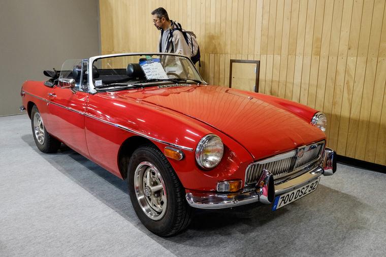 MGB Roadster 1974-ből, 1,8-as, 90 lóerős, 15 000-et kértek érte