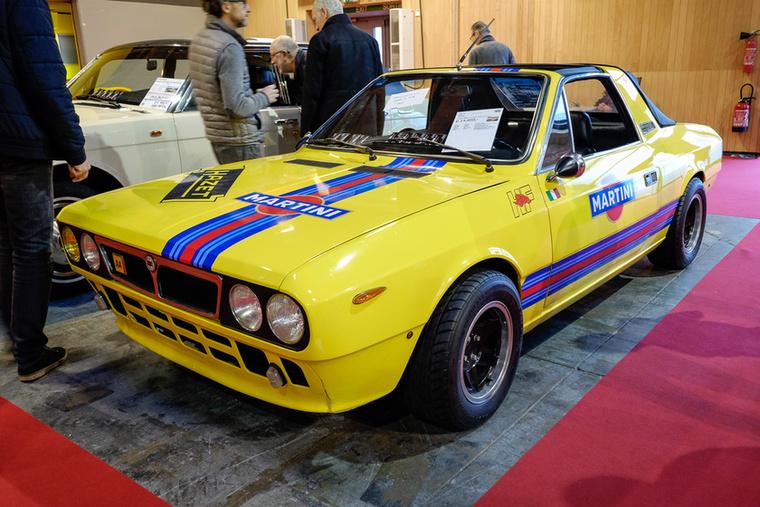 Egy átalakítgatott Lancia Beta - de nem a kupé, nem is a HPE, hanem a sokkal ritkább Spyder