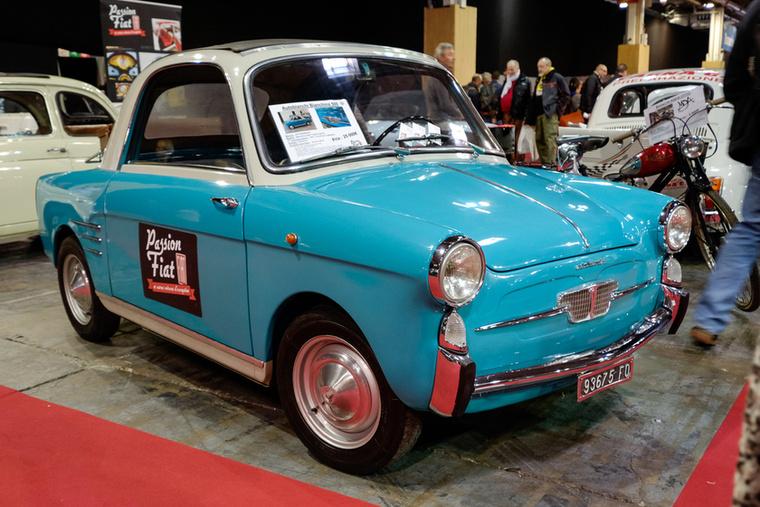 Egy másik, korai (1961-es) Bianchina Transformabile - ezt 25 ezer euróért adták