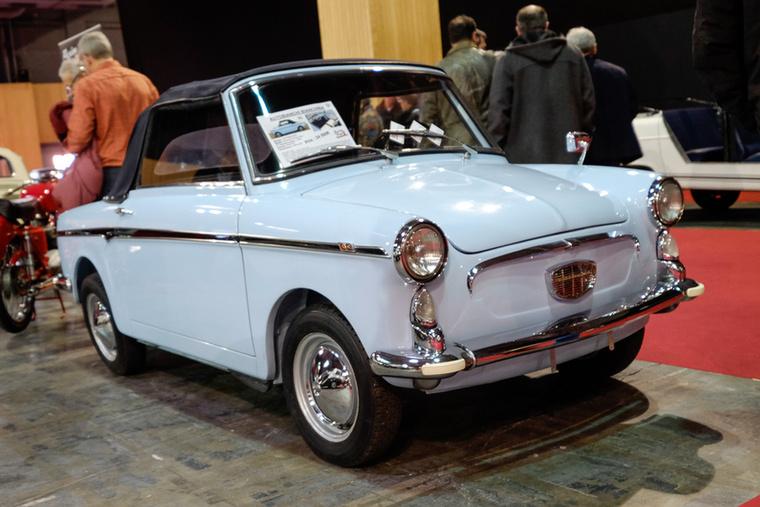 Az Eden Roc, azaz a teljes kabrió, a legdrágább Bianchina - ez az 1960-as autó 24 500-at ért