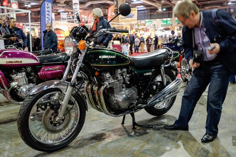 Rendesen mozog felfelé a nagy japán nakedek ára: az 1976-os Kawa Z900 9900 euró volt