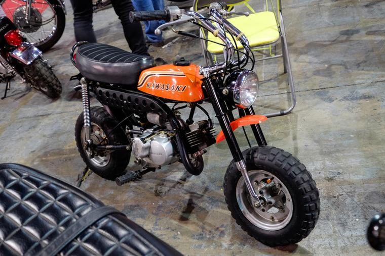 3250 euróért adták a Kawasaki Monkey-koppintását, amiben viszont csak kétütemű a motor