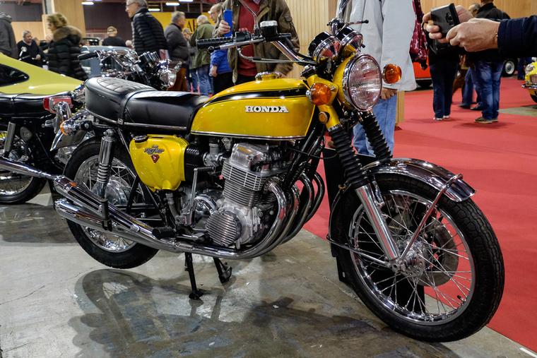 Nem egy igazán drága K0-s, hanem csak egy eggyel későbbi, 1971-es K1-es CB750