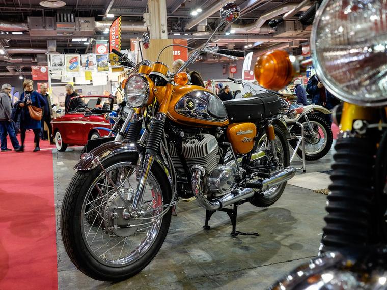 Te jó isten, már a japánok árát is nehéz értelmezni néha: Suzuki T500 Cobra 1968-ból, 16 500 euróért