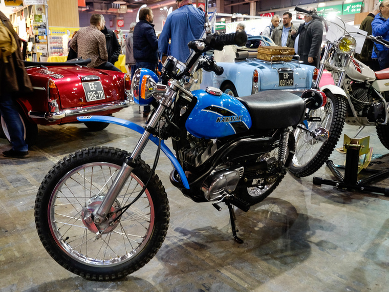 Engem annyira nem vonzott ez a Kawasaki MC90, de 2900 euróért azért addigra már gazdára lelt