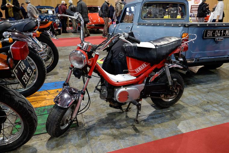 Azért egy kétütemű Yamaha Chappy sose lesz akkora kult, mint egy Dax - ez az 1984-es motor 1200 euróba került csak és meg is vették