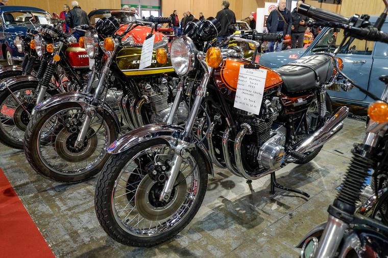 A motor, aminek megőrült az ára: Kawasaki 900 Z1 1973-ból - restaurálás óta 2800 kilométert ment, 24 900 eurót kértek érte