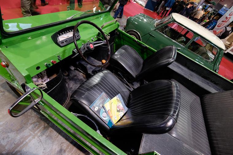A furcsaság neve Fiat 500 Lucertola 6x4, ennek a példánynak a vázszáma: 10