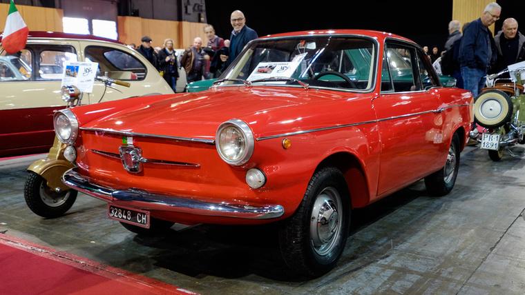 Egy másik, szintén Fiat 600-származék etceterini, a 600 Vignale