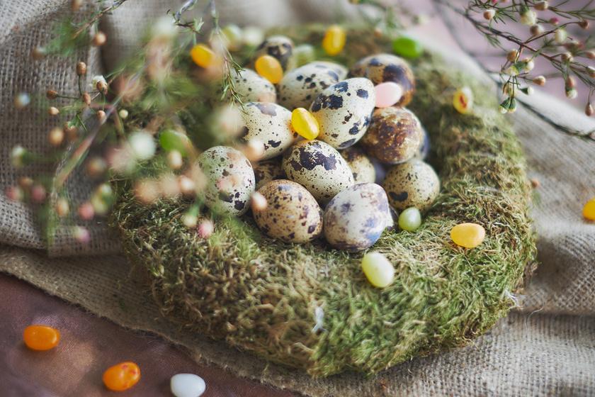 Csodaszép húsvéti dekorációk fészekkel és tojással: nagyon könnyen elkészíthetőek