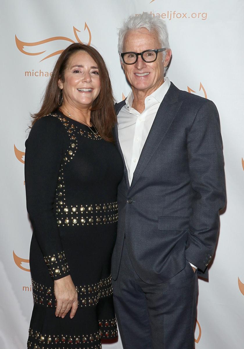 Talia Balsam jelenlegi férjével, John Slattery-vel.