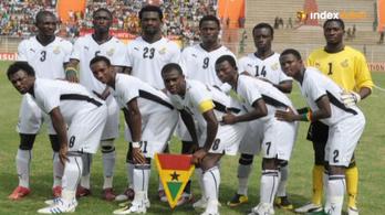 Jós: Az égiek ma Ghánát segítik
