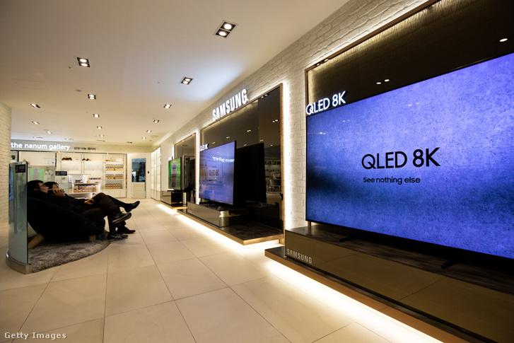 Samsung QLED 8K tévék