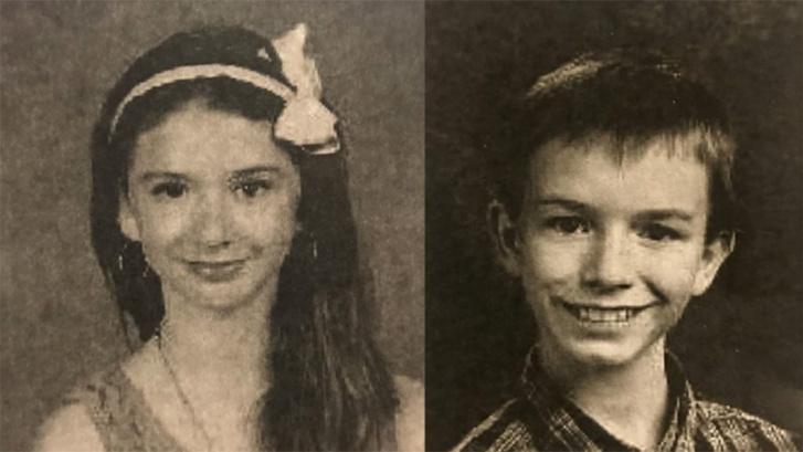 Mary Crocker és Elwyn Jr.