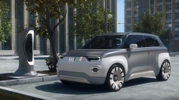 Moduláris elektromos autóval állt elő a Fiat