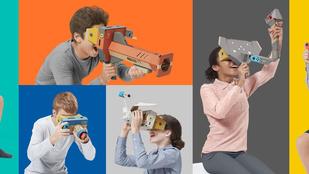VR-szemüveggel jött ki a Nintendo és a Labo