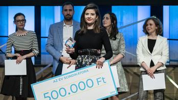 Lévay Krisztina nyerte a fiatal kutatók versenyét