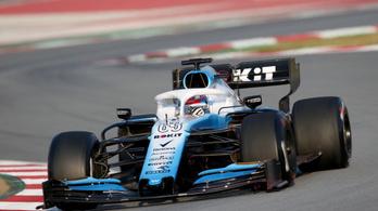 F1: szabálytalan a Williams, a fél kocsit át kell építeni