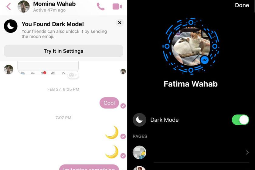 Így aktiválhatod a Messenger éjszakai funkcióját.