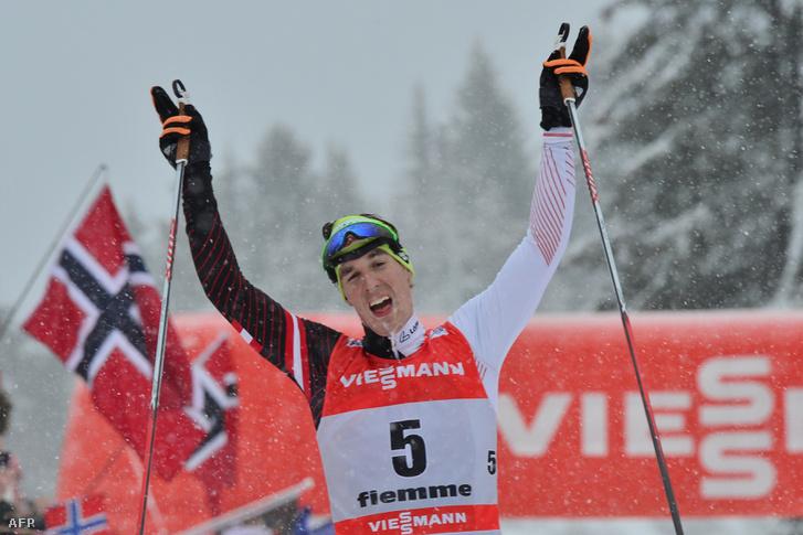 Johannes Dürr a 2014-es Tour de Ski-n