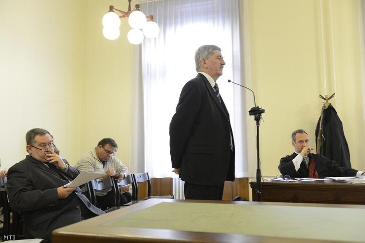 Kocsis István egy tárgyaláson 2015-ben