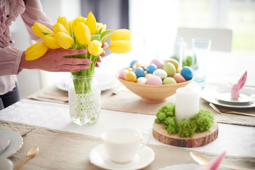 husvet-tulipan-asztal