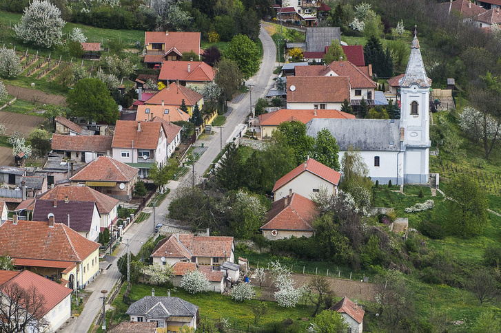 A bodrogkeresztúri református templom