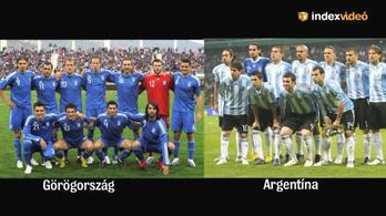 Jós: Nagyon jó meccs lesz a Görögország - Argentína