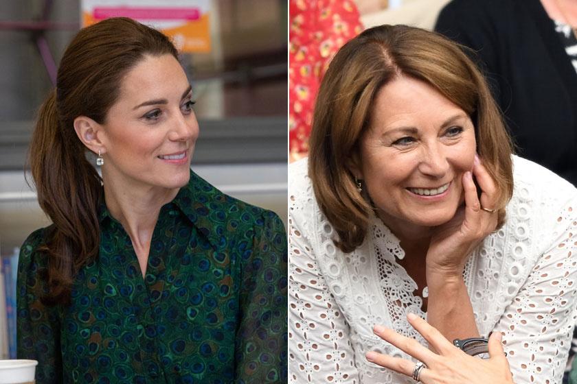 Katalin hercegné le sem tagadhatná gyönyörű édesanyját, Carole-t.