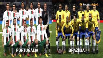 Jós: A portugál - brazil meccs simán döntetlen lesz