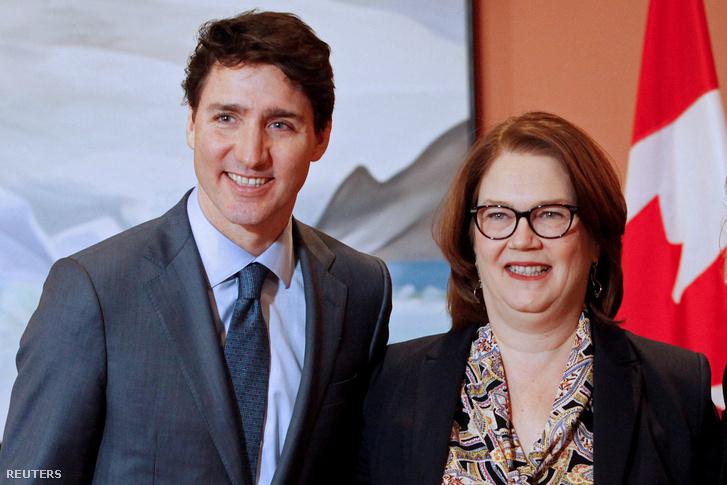 Justin Trudeau és Jane Philpott