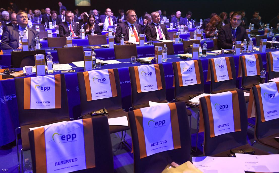 Az Európai Néppárt kongresszusa Helsinkiben a Messukeskus Kongresszusi Központban 2018. november 7-én
