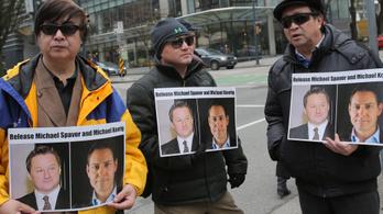 Kémkedés miatt vádat emeltek a két kanadai állampolgár ellen Kínában
