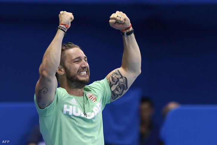 Shane Tusup a Rio de Janeiró-i Olimpiai Uszodában 2016. augusztus 6-án