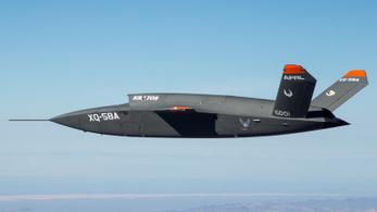 Pilóta nélküli harci drónokat tesztel az amerikai légierő