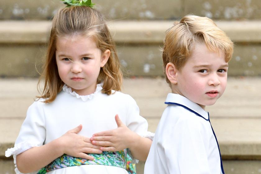 Így húsvétozik György herceg és kishúga - Katalin hercegné kotyogta ki