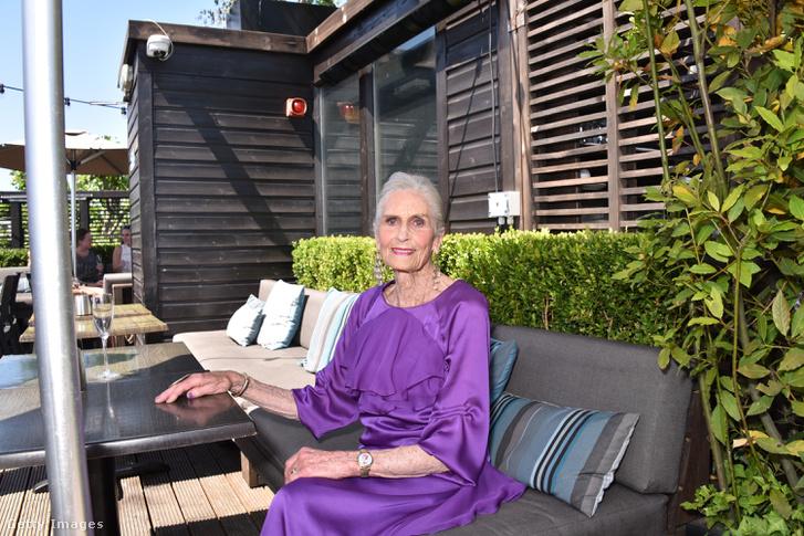Daphne Selfe a 90. születésnapján 2018-ban.