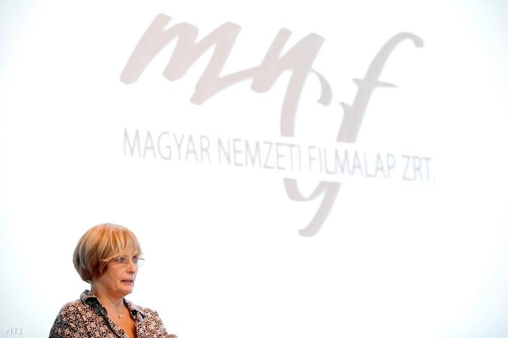 Havas Ágnes, a Magyar Nemzeti Filmalap (MNF) vezérigazgatója
