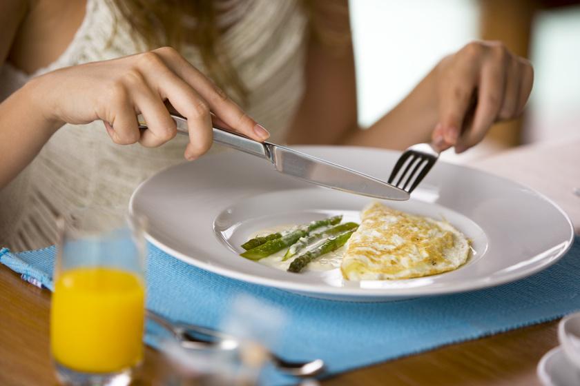Minden fogyókúra és zsírégetés alapja a megfelelő, egészséges táplálkozás, mely nem egyenlő a koplalással. A reggeli biztosítja az ember számára az energiát a napkezdéshez, tehát érdemes eltelítő, laktató ételekkel, fehérjében, rostban gazdag, szénhidrátban szegény fogásokkal megtölteni. A fehérjedús reggelik ráadásul csökkentik a ghrelin, az éhséghormon szintjét is a szervezetben.