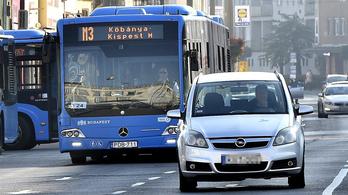 Buszsávok lesznek az Üllői úton a 3-as metrót pótló buszoknak